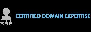 Cerified Domain Expertise